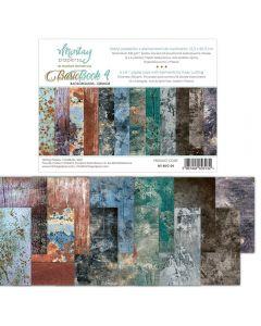 Set dvostranskih papirjev - Basic Book 4 - 15,2x20,3cm - 24 listov - 240g - Mintay