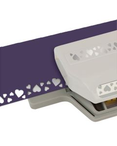 Luknjač - heart confetti