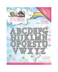 Rezalna šablona Yvonne Creations - Tots and Toddlers - Alphabet