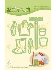 Rezalna šablona Leabilitie - Garden Set Watering can