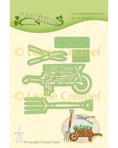 Rezalna šablona Leabilitie - Garden Set Wheel barrow