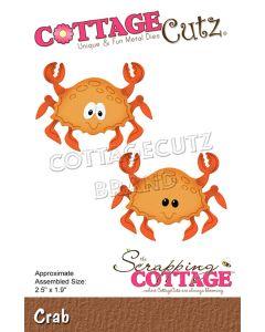 Rezalna šablona CottageCutz Crab / rak