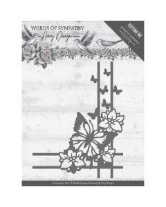 Rezalna šablona Amy Design - Words of Sympathy - Sympathy Corner