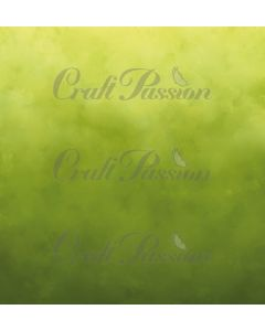 Papir - Romantic Memories Green - 30,5x30,5cm - 250g - Craft Passion