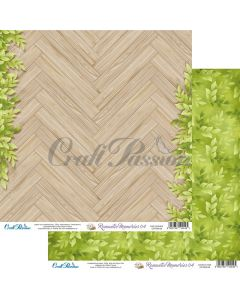Dvostranski papir - Romantic Memories 04 - 30,5x30,5cm - 250g - Craft Passion