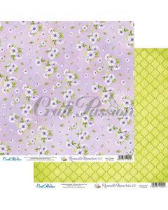 Dvostranski papir - Romantic Memories 05 - 30,5x30,5cm - 250g - Craft Passion