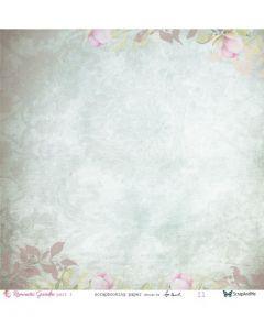 Dvostranski papir - Romantic Garden part1 11/12 - 30,5x30,5cm - 250g