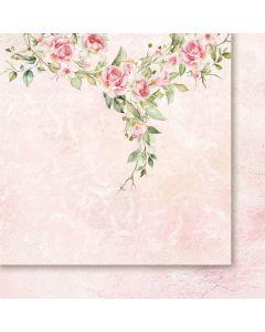 Dvostranski papir - Rose wine 01 - 30,5x30,5cm -200g