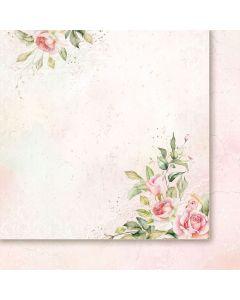 Dvostranski papir - Rose wine 04 - 30,5x30,5cm -200g