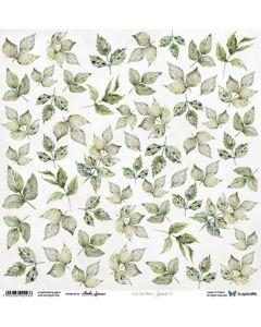 Papir za rezanje - Leaves 3 - 30,5x30,5cm - 250g