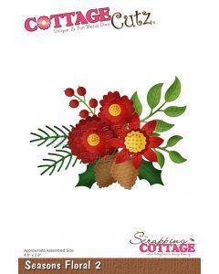 Rezalna šablona CottageCutz Seasons Floral 2