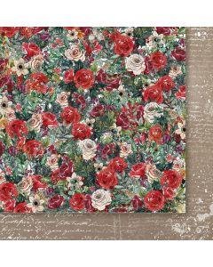 Dvostranski papir - A Christmas Garland 02 - 30,5x30,5cm -250g