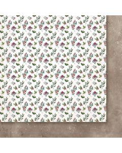 Dvostranski papir - A Christmas Garland 04 - 30,5x30,5cm -250g