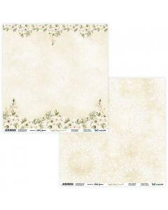 Dvostranski papir - Simple Story 3 Begie 07/08 - 30,5x30,5cm - 250g