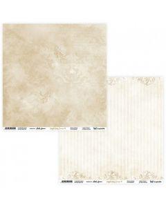 Dvostranski papir - Simple Story 3 Begie 09/10 - 30,5x30,5cm - 250g