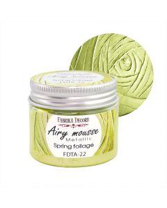 Airy mousse metallic - Spring foliage - 50ml