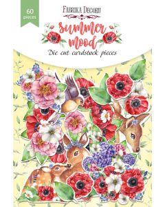 Set izrezov iz papirja - Summer mood - 60 kos - 250g