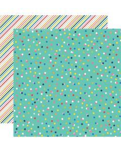 Dvostranski papir - Sunkissed - Play All Day - 30,5x30,5cm - Simple Stories