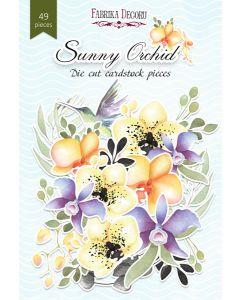 Set izrezov iz papirja - Sunny Orchid - 49 kos - 250g