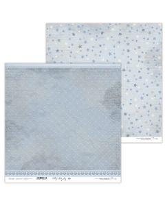 Dvostranski papir - Vintage Baby Boy 09 - 30,5x30,5cm - 250g - Lexi Design