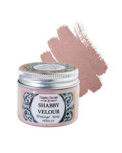 Akrilna barva - Shabby velour - Vintage rose - 50ml