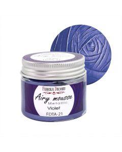 Airy mousse metallic - Violet - 50ml