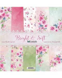 Set dvostranskih papirjev - Bright & Soft - 30,5x30,5cm - 5 listov + naslovnica - 250g
