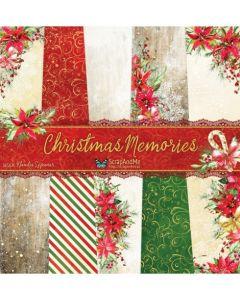 Set papirjev - Christmas Memories 30,5 x 30,5 cm