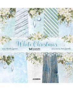 Set papirjev - White Christmas 30,5 x 30,5 cm